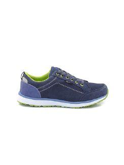 Herren-Dynamic Walk-Sneaker Blaugrau/Grün Detail 7