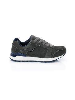 Damen-Allwetter-Sneaker Aquastop Grau/Blau Detail 6