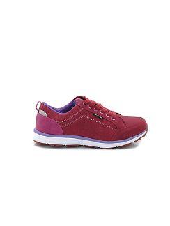 Damen-Dynamic Walk-Sneaker Bordeaux/Pink Detail 7