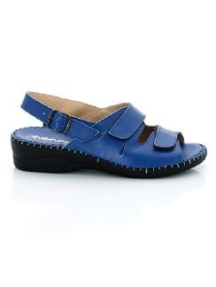 Supersoft-Sandalette Sommerbrise Royalblau Detail 5