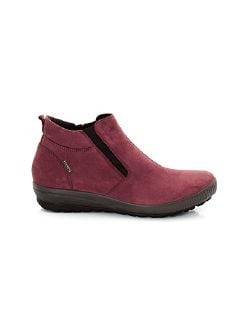 Aquastop-Stiefelette Bordeaux Detail 6