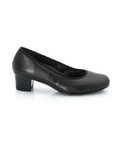 Hallux-Sensitiv-Stretch-Pumps Schwarz Detail 6