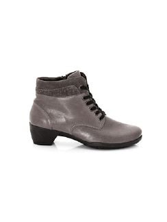 Hallux-Stretch-Stiefelette Thermo Bordeaux Detail 6