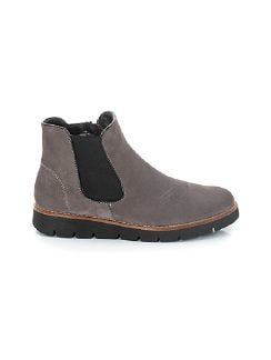 Chelsea-Boots Flexibility Taupe Detail 7